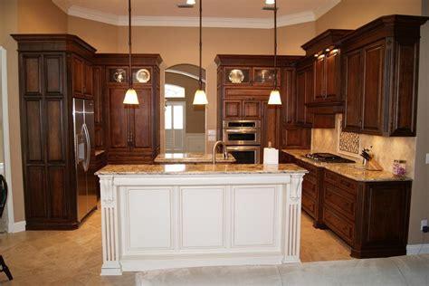 kitchen island white brown kitchen cabinets modification for a stunning kitchen