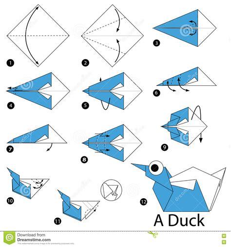 how to make duck origami origami duck www pixshark images
