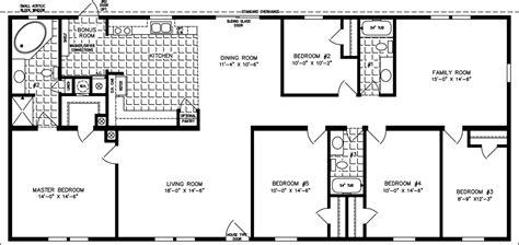 5 bedroom house floor plans 5 bedroom mobile home floor plans 6 bedroom wides floor plans for 1 bedroom homes