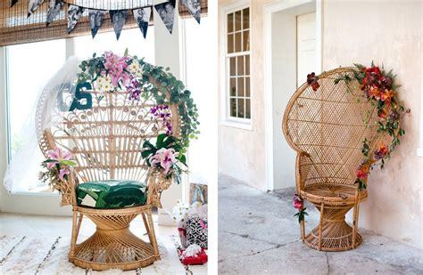 sillas y sillones de mimbre sillones de mimbre blog de bodas de una boda original