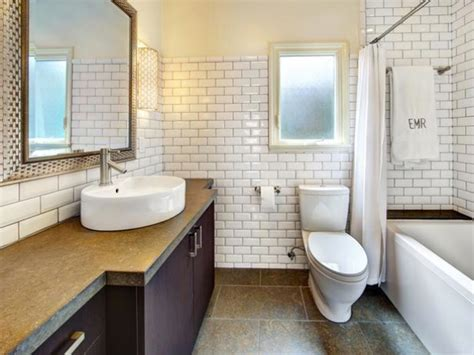 subway tile designs for bathrooms tips on choosing the white subway tile for bathroom midcityeast