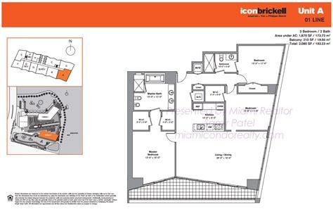 28 icon condo floor plan icon brickell tower 2