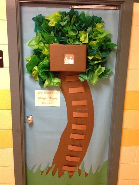 decorations for a door awesome magic tree house door decoration classroom door
