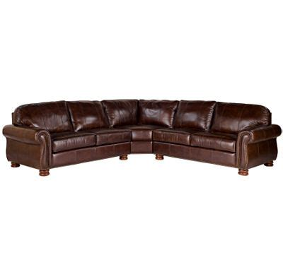 thomasville leather sofas thomasville sectional sofas in fabric leather sectionals