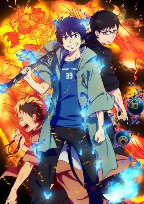 new anime crunchyroll second season of quot blue exorcist quot anime