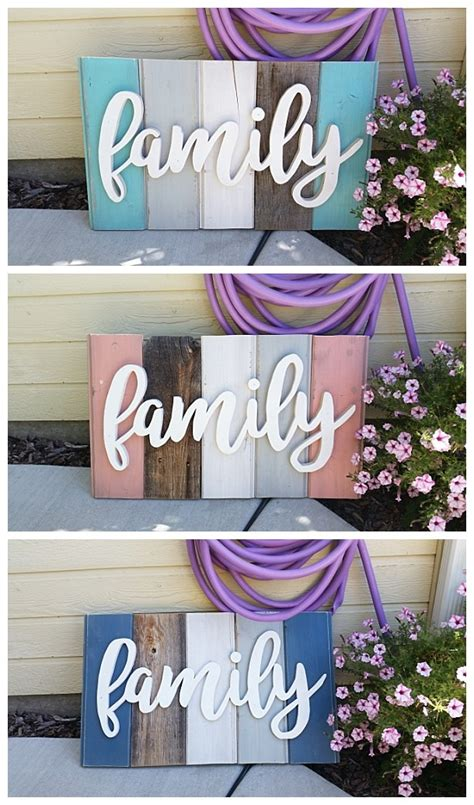 do it yourself home decor projects new old distressed barn wood word indoor outdoor