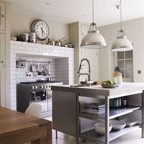 industrial kitchen island 15 distinct kitchen island lighting ideas home design lover