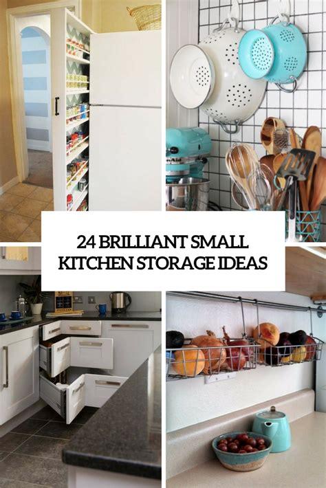 small kitchen storage ideas 24 creative small kitchen storage ideas shelterness