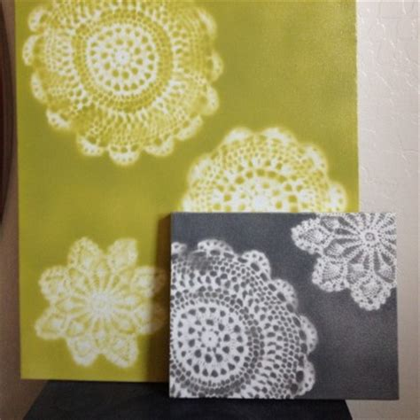 doily crafts for craft of the day unique wall made from doilies huffpost