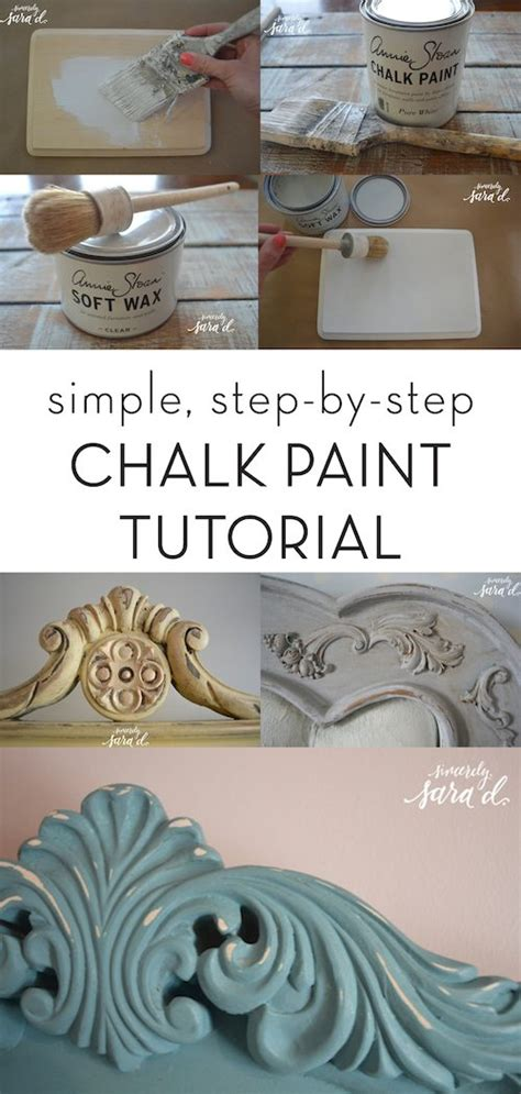 chalk paint easy how to apply wax to chalk paint sincerely d