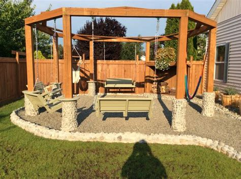 swing pit swings pits porch swings and pits on