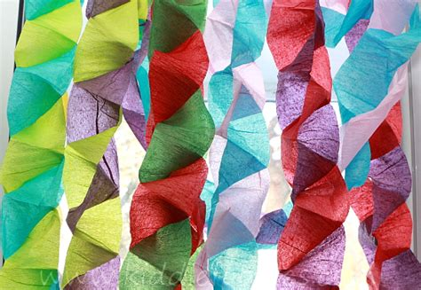 crafts using crepe paper crafts for crepe paper tree