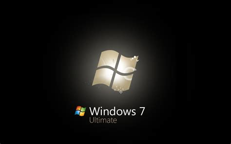 Window 7 Ultimate Car Wallpaper by Windows 7 Ultimate Black Edition Free Wallpapers