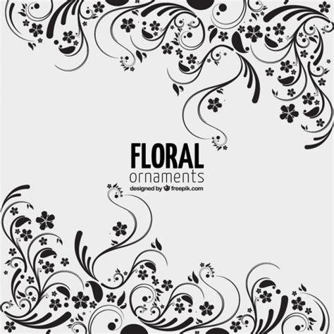 design a ornament floral ornaments background vector free