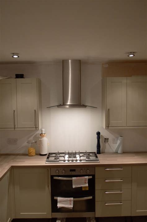 Kitchen Vent Hood Designs kitchen update oven hob amp extractor fan well i guess