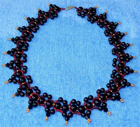 bead magic free pattern for necklace blackberry jam magic