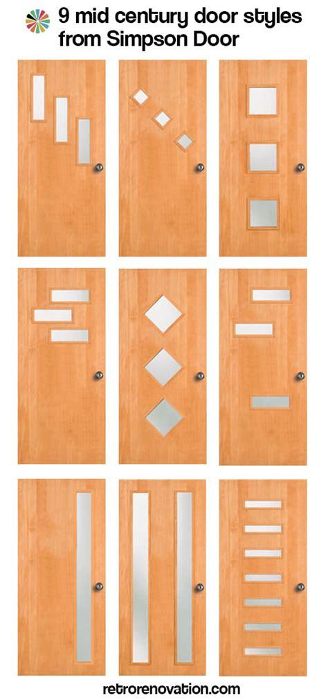 mid century front door 9 mid century modern exterior door styles from