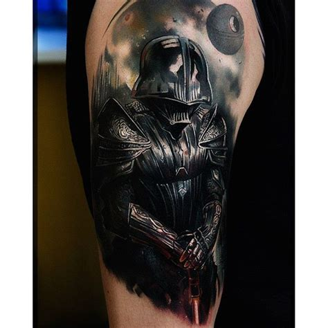 darth vader tattoo ink on instagram