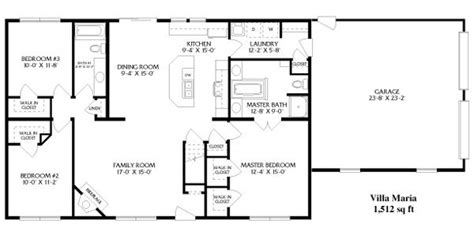 simple open floor plan homes simple open ranch floor plans style villa house