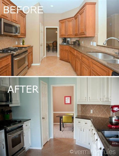 kitchen cabinet painting before and after kitchen cabinets before and after before after my