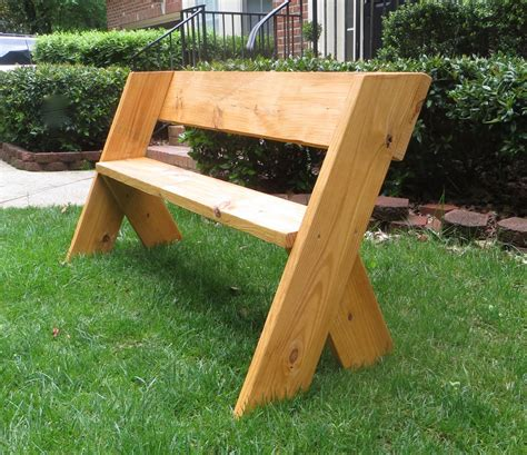que woodwork diy tutorial 16 simple outdoor wood bench the project