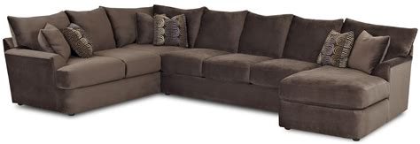 l shaped sectional sofas klaussner findley l shaped sectional sofa with right