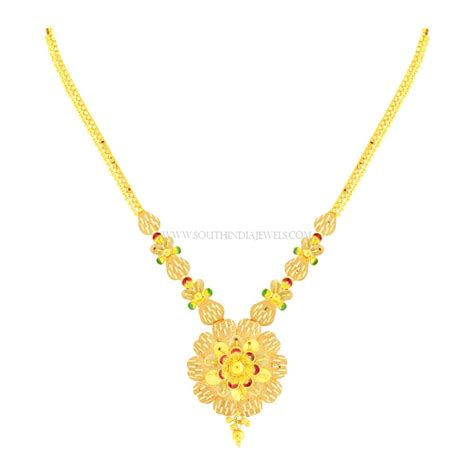 necklace designs kalyan jewellers necklace designs with price south india