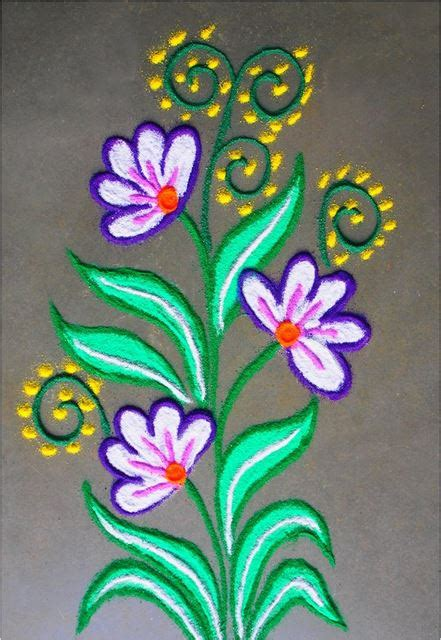 designs for children to make beautiful and easy rangoli designs diwali rangoli design