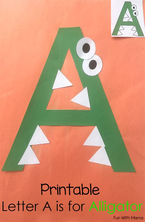 letter a crafts for printable letter a crafts and activities