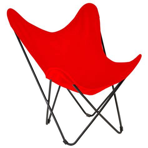 fauteuil papillon m 233 tal et toile coton