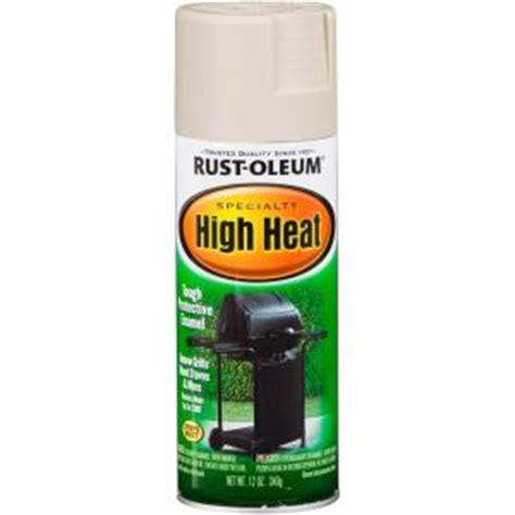 home depot paint rust rust oleum specialty 12 oz high heat spray paint 7750830