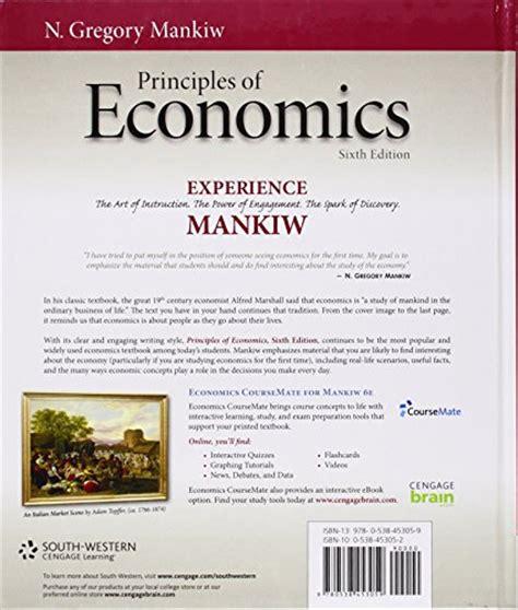 principles of macroeconomics mankiw s principles of economics principles of economics mankiw s principles of economics