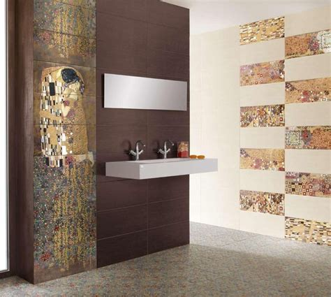 modern tiles for bathrooms gustav klimt s the tiles modern tile new york