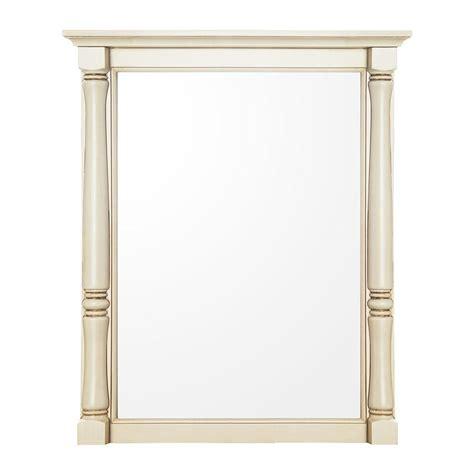 home decorators mirror home decorators collection albertine 30 in l x 24 in w
