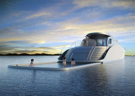 Kitchen Gadgets atreides luxury yacht with retractable pool new lifestyle