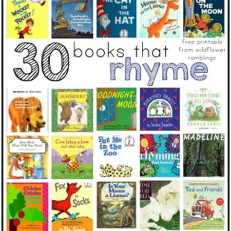 best rhyming picture books learning language series archives wildflower ramblings
