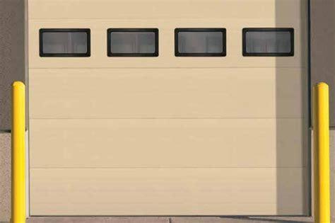 sectional overhead door thernacore sectional steel doors 850 advanced