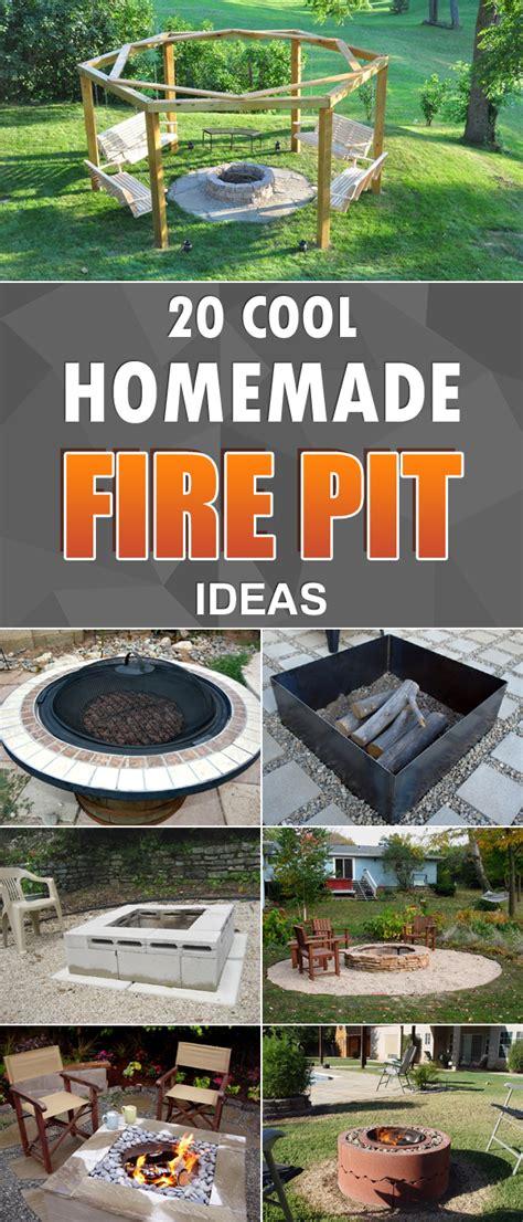 cool firepit 20 cool diy pit ideas