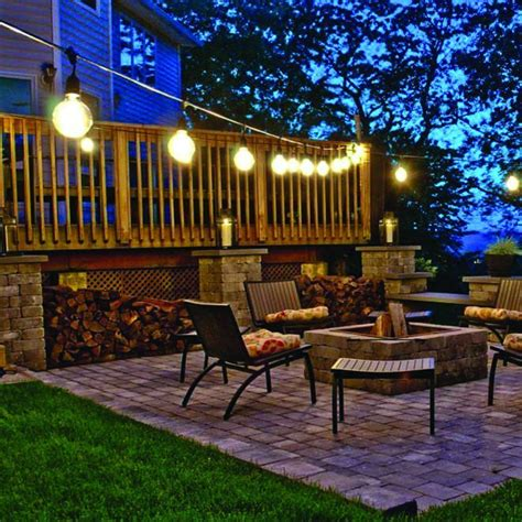 garden string lights new solar powered retro bulb string lights for garden