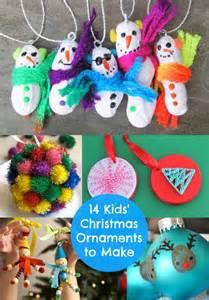 kid ornament crafts crafts 14 ornaments to make ornament