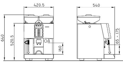 Kitchen Floor Plan Dimensions schaerer coffee art plus fine steam