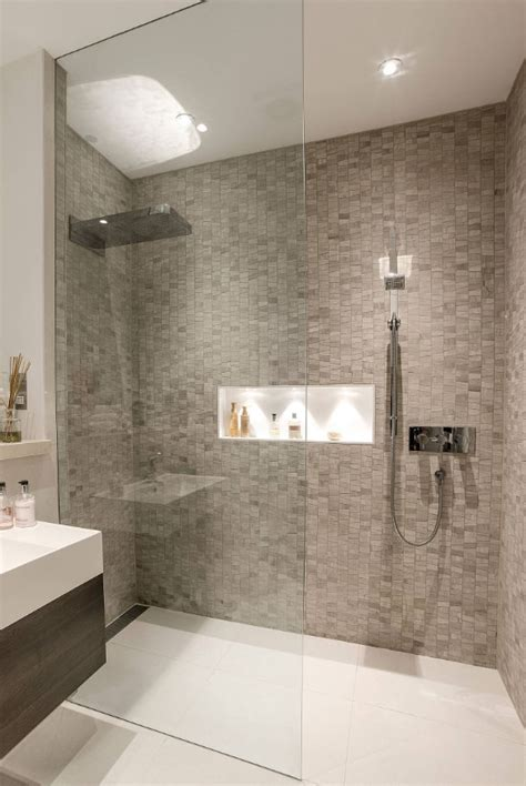showers in bathrooms 27 walk in shower tile ideas that will inspire you home
