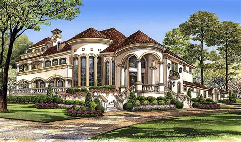 mediterranean house plans with courtyards mediterranean with central courtyard 36143tx architectural designs house plans