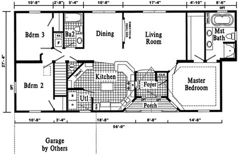 floor plans ranch style homes dover ranch style modular home pennwest homes model s