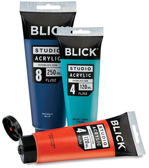 Blick Studio Acrylics Blick Materials