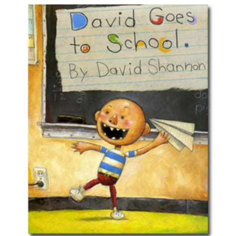 elementary picture books david goes to school 171 book a day almanac