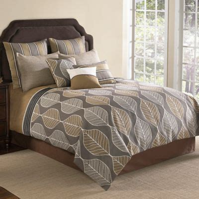 gray and brown comforter sets buy brown comforter sets from bed bath beyond