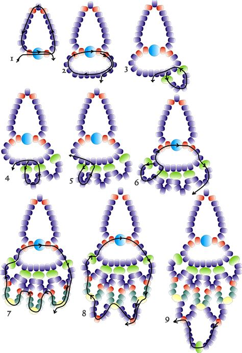 free seed bead earring patterns jewelry seed bead patterns on bead patterns