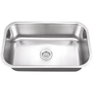 steel kitchen sinks shop superior sinks 18 in x 30 in satin brush stainless