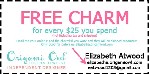 discount origami owl origami owl coupon and s day giveaway